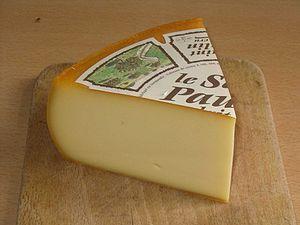 Saint-Paulin cheese - Image: St Paulin