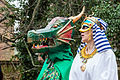 St Albans Mummers production of St George and the Dragon, Boxing Day 2015-9.jpg