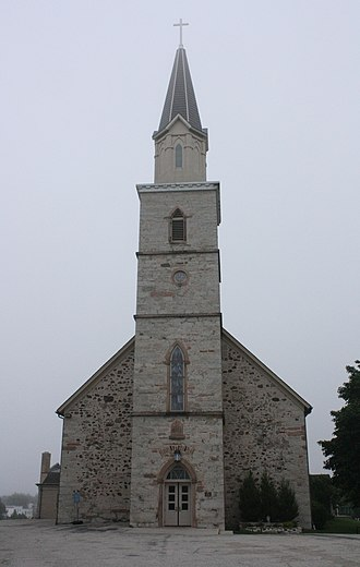 St. Gregory's Church (St. Nazianz, Wisconsin) - St. Gregory's Church