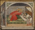 St Julianus Murdering his Parents (Aretino Spinello) - Nationalmuseum - 19904.tif