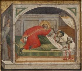 St Julianus Murdering his Parents