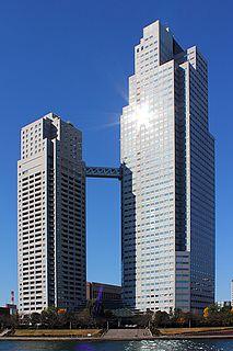 Saint Lukes Tower building in Chuo-ku, Tokyo, Japan