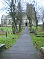 St Margaret's Church, Hawes, Path - geograph.org.uk - 1599661.jpg