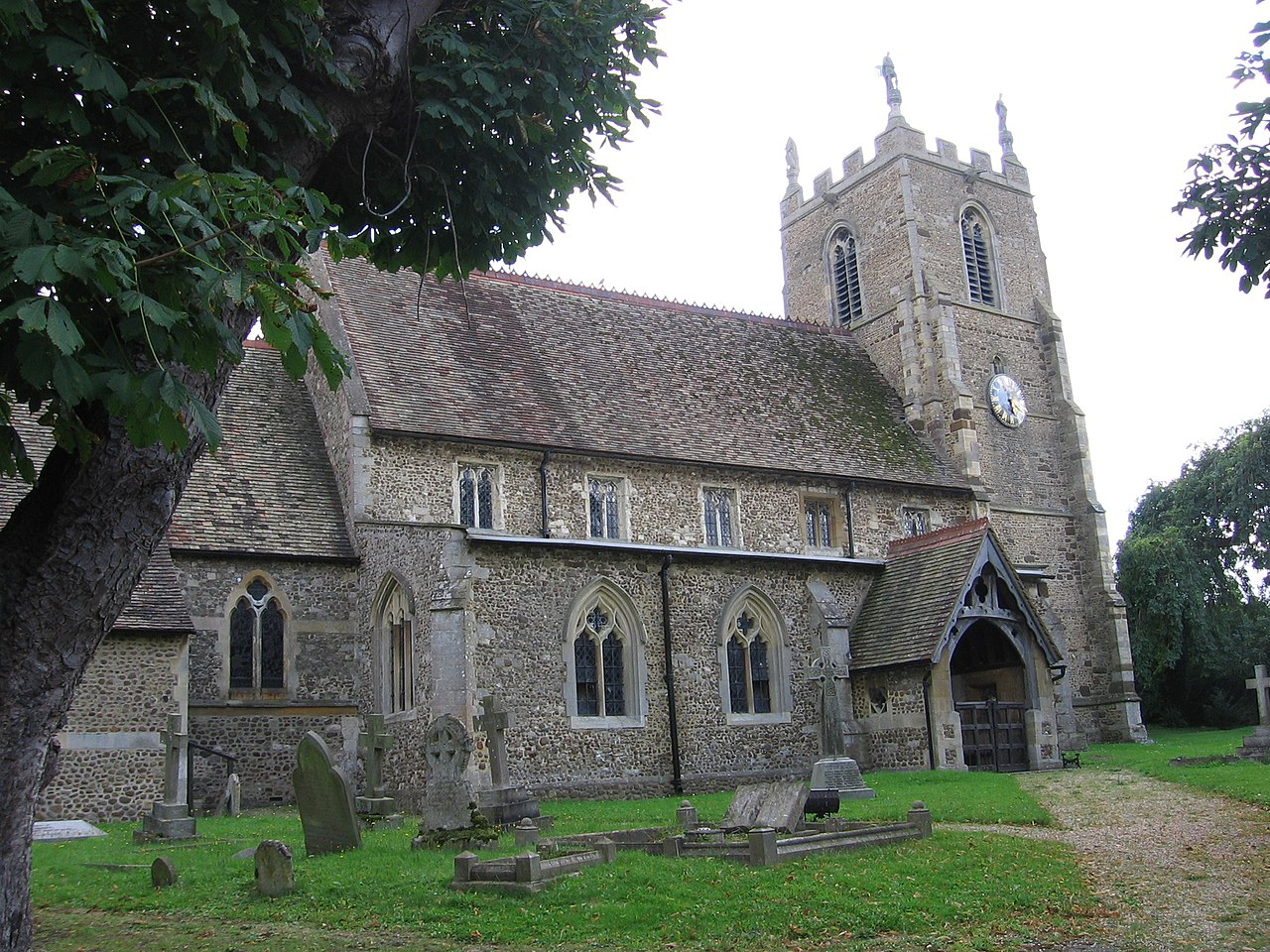 File:St Margaret's church in Abbotsley, Cambs.jpg - Wikipedia