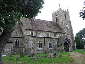 Abbotsley - Image: St Margaret's church in Abbotsley, Cambs