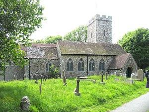 Cheriton, Kent - Image: St Martin, Cheriton, Kent