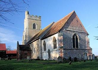 Great Bradley - Image: St Mary's Church, Great Bradley geograph.org.uk 1066859