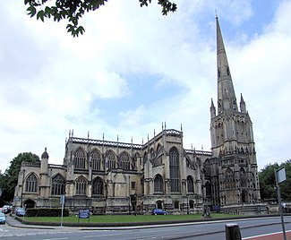St Mary Redcliffe, Bristol, north side.jpg