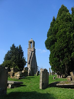 Stonehouse, South Lanarkshire - Remains of Saint Ninian's Kirk, Stonehouse, South Lanarkshire.