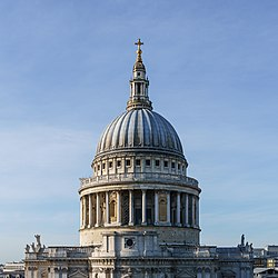 St Paul's Cathedral Dome from One New Change - Square Crop