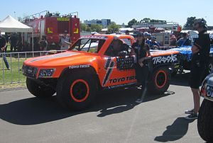 Robby Gordon - The Stadium Super Truck of Gordon at the 2015 Clipsal 500 Adelaide