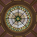 Stained Glass under Rotunda, Alabama State Capitol, Montgomery 20160713 1.jpg