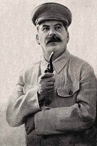 Joseph Stalin - Joseph Stalin in an authorised image taken in 1937 and used for state publicity purposes