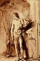 Standing Male Nude - Rembrandt Harmenszoon van Rijn.png