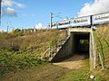 Stansted Mountfitchet, Stansted Airport railway spur subway - geograph.org.uk - 1022072.jpg