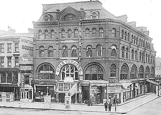 Wallack's Theatre - Image: Star Theatre (formerly Wallack's Theatre), 844 Broadway, New York City in 1900 (demolished)