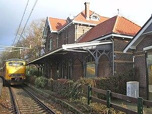 Soest (Netherlands) railway station - Image: Station Soest spoorzijde