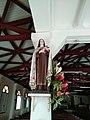 Statue de Sainte Thérèse - Église Sainte Jeanne d'Arc du Vert-Pré (Martinique).jpg