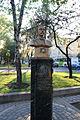Statue of Juan Pablo Duarte near Iglesia Sagrados Corazones (5142846558).jpg