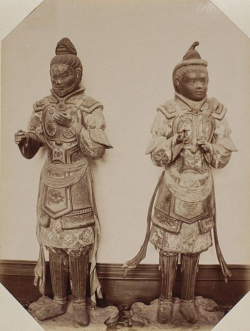 Statues of Tianlong babu