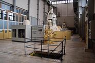 Staustufe Griesheim im Generatorhaus 2
