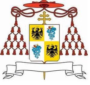Ascanio Sforza - Coat of Arms of Cardinal Ascanio Sforza