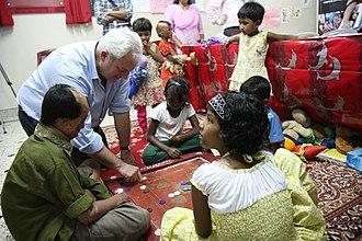 Stephen O'Brien - Image: Stephen O Brien visits survivors of acid attacks in Bangladesh (6395601343)