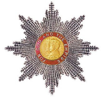 Order of the British Empire - Grand Cross star of the Order of the British Empire