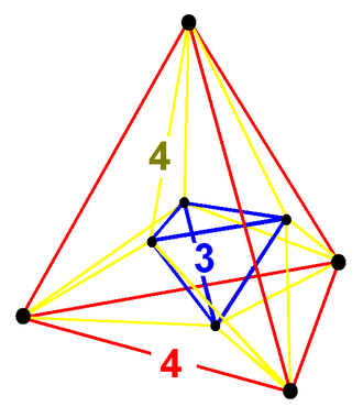 Stericated 5-cubes - Image: Stericated penteract verf