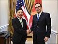 Steven Mnuchin and Vietnamese FM Phạm Bình Minh.jpg
