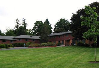 Lewis & Clark College - Stewart Residence Hall.