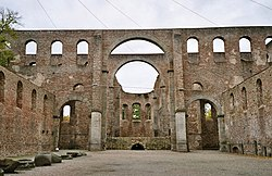 Hersfeld Abbey: church ruins