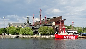 Vasa Museum - Exterior of the Vasa Museum.