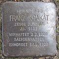 Stolperstein Franz Krakat Sattelstraße 27 Ahlen.nnw.jpg