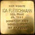 Stolperstein Ida Fleischmann.JPG