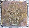 Stolperstein Ludwig-Barnay-Platz 2 (Wilmd) Hans Meyer-Hanno.jpg
