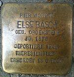 Stolperstein Munich Else Basch.jpg