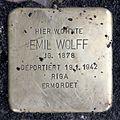 Stolperstein Sanderstr 23 (Neukö) Emil Wolff.jpg