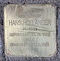 Stolperstein Westfälische Str 59 (Halsee) Hans Holländer.jpg