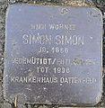 Stolperstein Windeck Rosbach Bergstraße Simon Simon.jpg