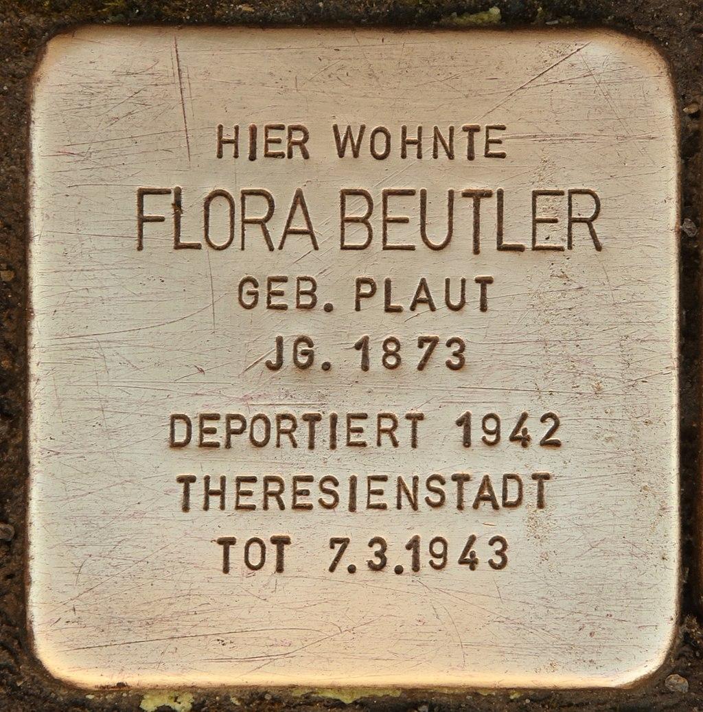 Stolperstein für Flora Beutler (Reichenbach).jpg