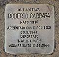 Stolperstein für Roberto Carrara.JPG