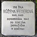 Stolperstein für Ruzena Federova.jpg