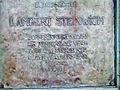 Stralsund, Lambert-Steichwich-Denkmal, Gedenktafel (2006-09-12), by Klugschnacker in Wikipedia.jpg