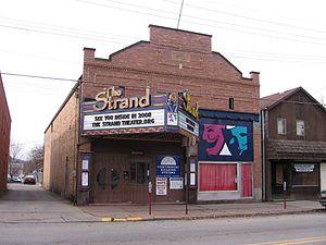 Zelienople, Pennsylvania - Image: Strand 1