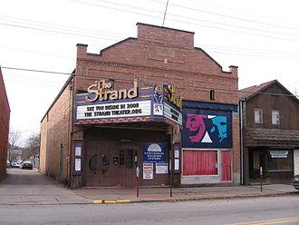 Zelienople, Pennsylvania - Strand Theater