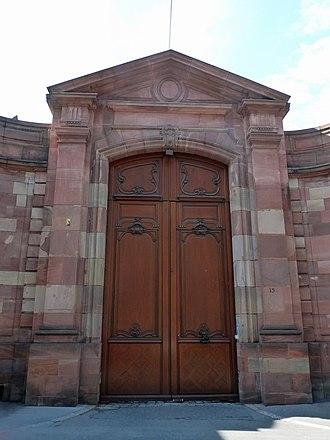 Hôtel des Deux-Ponts - Image: Strasbourg Hôtel des Deux Ponts (2)