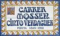 Street sign - Carrer Mossen Cinto Verdaguer - Canet de Mar.jpg