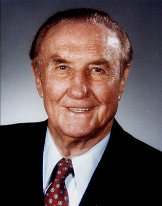 Strom Thurmond - Thurmond's official Senate portrait from 1997