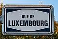 Stroosseschëld «Rue de Luxembourg», Konter-101.jpg